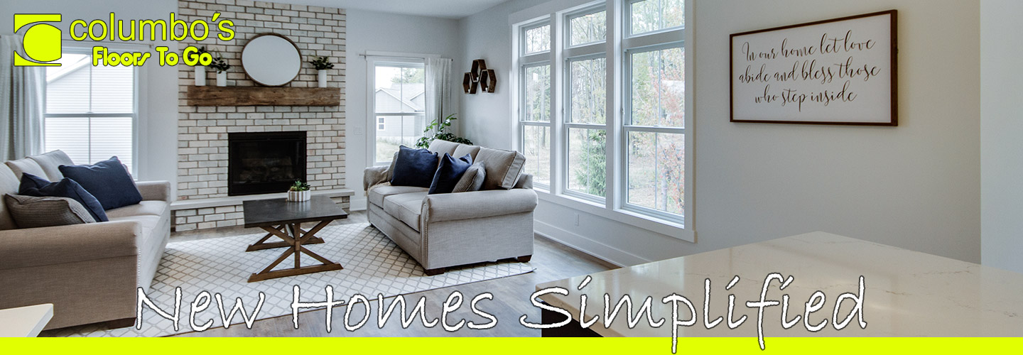 Columbo's Floors To Go makes building new homes simple! Stop by our showroom today to speak to our experts before your next project!