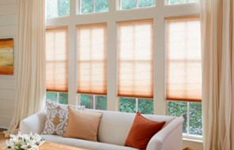 Honeycomb shades are a great blind & shade solution for your windows.